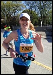 Kathy makes running look SOOOO easy!